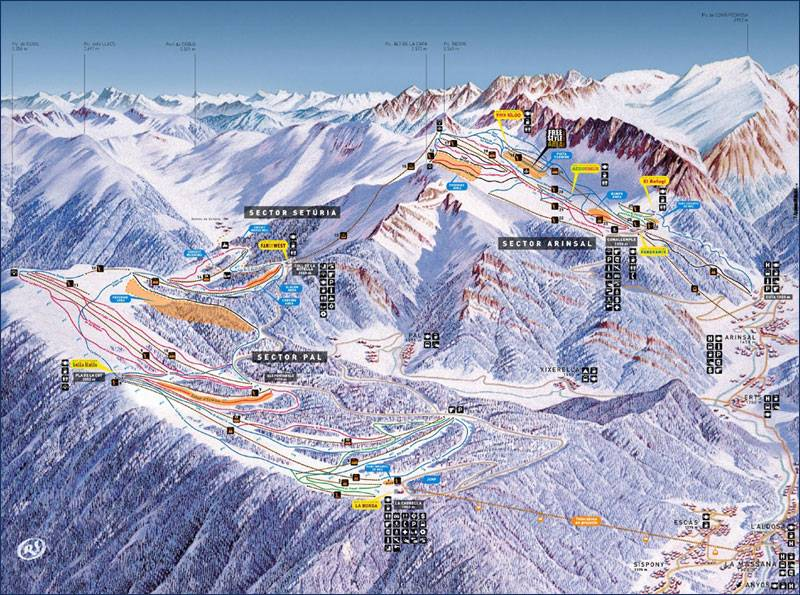 6 горнолыжных станций,